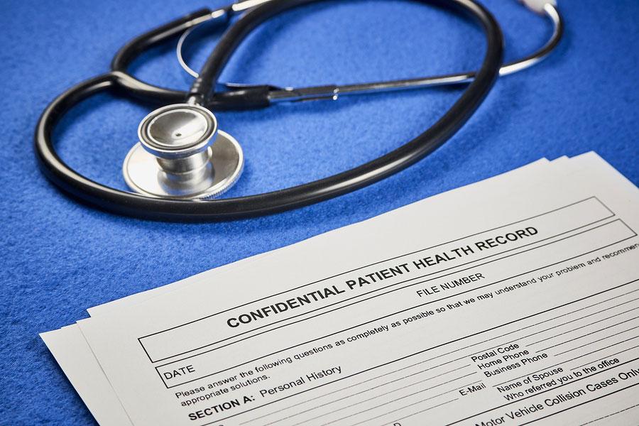 Confidential Patient Health forms